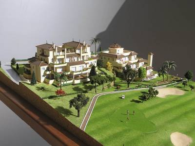 Maqueta San Roque Hills Golf Resort Mansiones