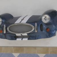 Frontal Shelby Cobra. Vista 2